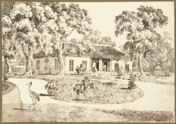 Bungalow attached to the house of Maharaja Mitrajit Singh, Patna (Bihar),  12 May 1825